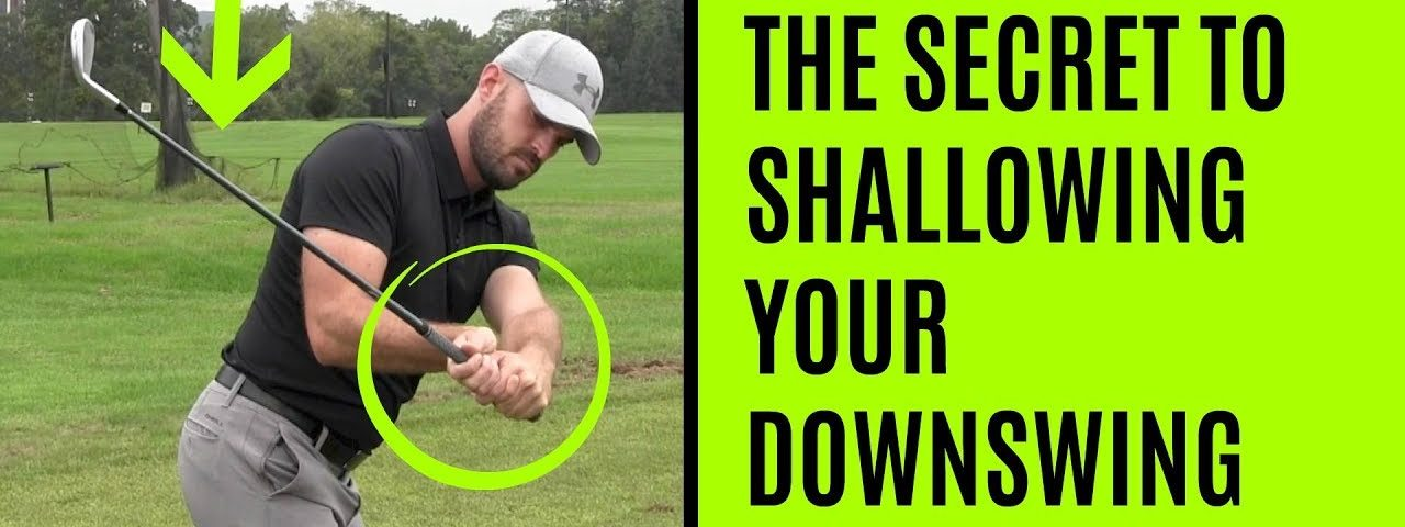 GOLF: The Secret To Shallowing Your Downswing – Wrist Angles