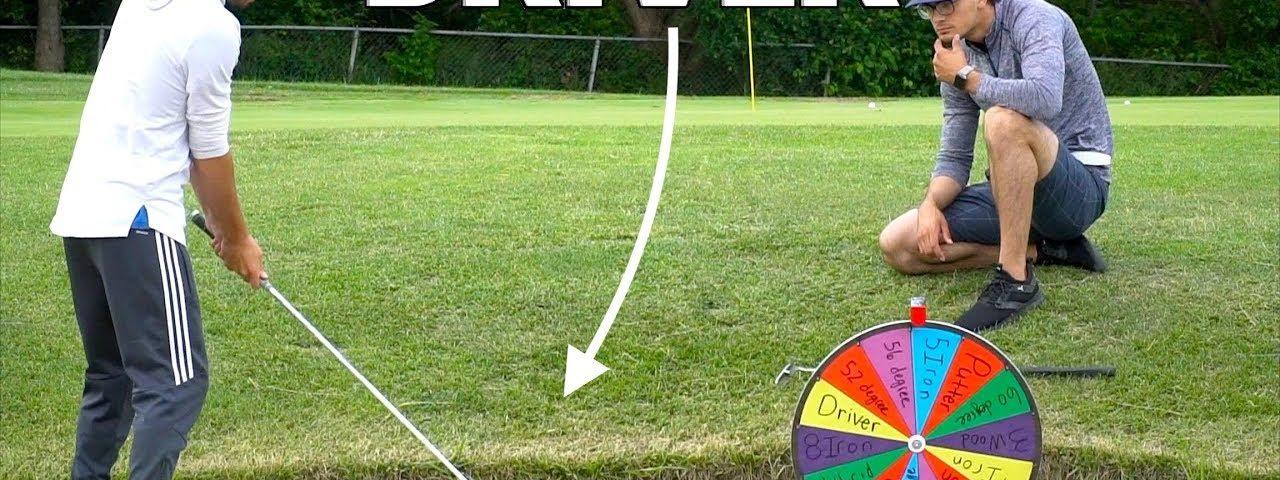 Random Golf Club Challenge | Wheel of Not Ideal – Tom Good